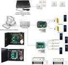 Wiegand26 access door control for 6 doors 110v power box 600lbs Mag lock keyfods
