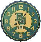 Bottle Cap Wall Clock Baylor University