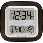 Digital Wireless Indoor-Outdoor Weather Wall Mountable-Table Stand Atomic Clock