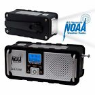 Portable NOAA Severe Blue Backlight Weather Alert Digital Radio-LED Flashlight