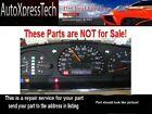 97 98 99 Nissan Pathfinder Instrument Cluster Speedometer  Repair Service FAST!