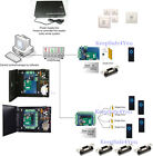 Five doors Network access security system kit ANSI strike lock power supply box