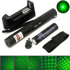 10 miles Green 5MW Laser Pointer Pen Lazer Light Beam Zoomable Burning + Battery