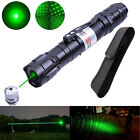 10 Miles Powerful 5mw Green Laser Pointer +Holster Pen Light 532nm Visible Beam