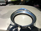 55  56 Chrysler New Yorker deluxe  left  Headlight Bezel Trim Ring