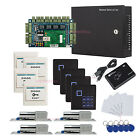 4 Doors Security Access the Systems & Electric Bolt Lock+Keypad Reader+Power Box