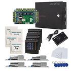 4 Doors TCP/IP Access the Systems Kit Bolt Lock+Keypad Reader+110-240V Power Box
