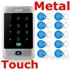 Heavy Duty Metal 125KHz RFID Card Password Door Access Controller+10ID Keyfobs