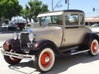 1929 Ford Model A -- 1929 Ford Model A  0 Gold  4 cylinder 3 Speed Manual