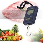 40kg/10g Portable Electronic Hanging Fishing Digital Pocket Weight Hook Scale US