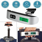 US STOCK Portable Travel Tare 10g/ 50kg Hanging Digital Suitcase Luggage Scale