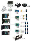 11 Doors Controllers in Control Systems with Exit Motion Sensor ANSI Strike Lock