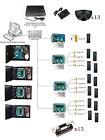 13 Doors Electronic Door Entry Systems Kits Exit Motion Sensor ANSI Strike Lock