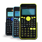 Student Scientific Calculator with Dustproof Cover for Math Science Engineering