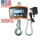 500 KG/lbs Digital Crane Scale Heavy Duty Industrial Hanging Crane Scale Adapter
