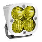 White Squadron Pro Amber LED Driving/Combo Lights Baja Designs 490013WT