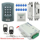 RFID Card and Password Access Control System+Drop Bolt Lock+2 Remotes Controls