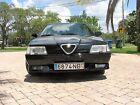 1991 Alfa Romeo 164 Black 1991 Alfa Romeo 164S