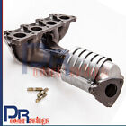 Exhaust Manifold with Integrated Catalytic Converter For Honda Civic LX VP D16Y7