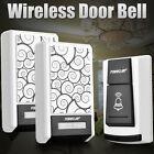 Waterproof Wireless Doorbell Door bell 36 Chimes Songs Remote Control 2Receiver