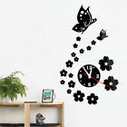 Hot Acrylic clocks watch wall clock 3D crystal mirror watches home decoration
