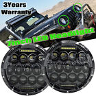 7inch LED Projector Headlights Hi/Lo Beam DRL Headlamps For Jeep Universal Truck
