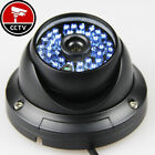 AHD 960P 1.3MP CCTV OUTDOOR DOME SECURITY CAMERA Waterproof BLUE 48IR BLACK 6mm/