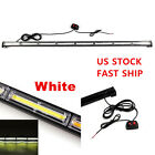 144W Universal White COB LED Strobe Traffic Emergency Beacon Warning Light Bar