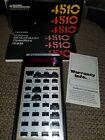 National Semiconductor Mathematician RPN Calculator 4510 Box & Manual