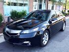 2012 Acura TL 6-Speed AT with Tech Package Crystal Black Pearl 2012 Acura TL w/ Navigation & Technology Package