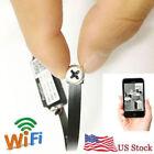 wireless spy IP WIFI mini DIY Screw pinhole hidden nanny audio micro camera dvr