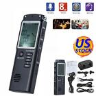 SK301 8G Rechargeable USB LCD Digital Audio Voice Recorder Dictaphone MP3 Player