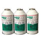 3 CANS - REDTEK A/C Refrigerant (6 Ounce Cans)