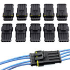 10pcs Super Waterproof Electrical Wire Connector Plug For Car Van Boat 4 Pin Way
