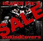 YAMAHA RAPTOR 350 700 YFZ450 Wolverine  Head Light Covers RUKIND 06 - 2017
