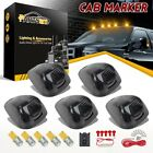 Smoke Roof Running Light W5W Amber 3528 SMD LED Assembly Wire Pack for Ford 5pcs