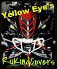 2017 Yamaha Raptor 700/450/350 YELLOW EYES HeadLight Covers RuKind  ALL YEARS