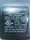 Omron Healthcare U041-060R0050 Transformer Power Supply 6VDC 500mA