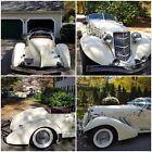 1936 Replica/Kit Makes Auburn Speedster Chrome Auburn Speedster