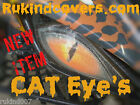 Yamaha Raptor 660 CAT Eyes HeadLight Covers RUKINDCOVERS NOT A COPY