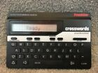 Franklin Crosswords Puzzle Solver Model CW-50 Hand Held Electronic