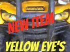 "Polaris RZR Ranger 800/900 YELLOW Eyes ORIGINAL""RUKIND COVERS"" HeadLight Covers"