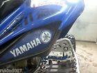NEW RAPTOR  YFZ 450 Blue/White YAMAHA HeadLight Covers RUKIND ATV