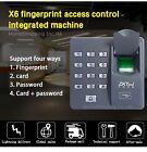 ZKTeco Fingerprint + RFID Card Door Access Control Keypad Password Access Keypad