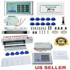 620LBS Electric Door Lock Access Control System Kit Magnetic Electromagnetic EK