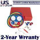 5FT Hose R134a R12 R22 R502 AC A/C Manifold Gauge Set Air Conditioner Refrige