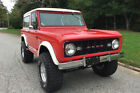 Ford Bronco  1966 Ford Bronco 4×4 in cherry (both the color and the condition)