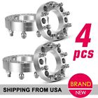 """4 1.5"""" 8x6.5 8x170 Wheel Adapters 14x1.5 Studs for 06-10 Chevy Express 2500 New"""