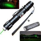 Military Powerful 009 Green Light beam 5mw High power 532nm Laser pen + 18650