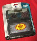 RARE 1996 NOS Texas Instruments Ti-2200+ Electronic Checkbook Calculator